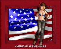 American Stripes Babe