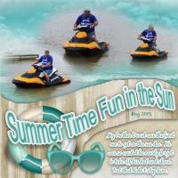 Summertime Fun in the Sun