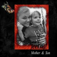 Mother & Son What A Feeling