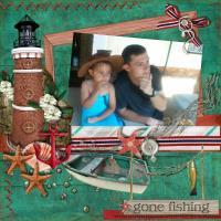 Two gone fishing