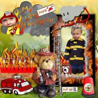 MY LITTLE FIREFIGHTER HERO