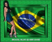 Brazil Blue Globe Babe