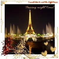 My Bucket list - Eiffel tower