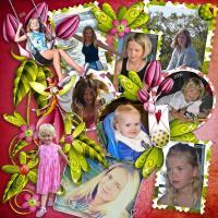 Darcie Girl Through the Years