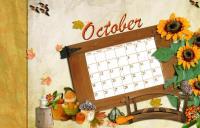 DT Calender October