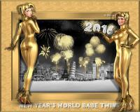 Happy New Year 2016 Twins Babes