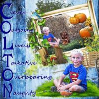 Colton Name Letters~