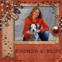 Rhonda & Blue