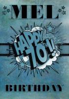 Happy 70th Birthday Mel (Melx)