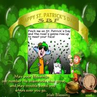 HAPPY ST. PATRICKS DAY SBF