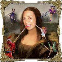 THE RED MAGE & HIS FAIRIES MAKEOVER MONA LISA