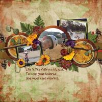 Pumpkin Spice: Get On Your Bike