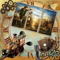 Steampunk split frame
