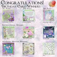Scrapbook Flair 10th Birthday Challenge Winners