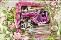 Pink & Strange Motorcycle