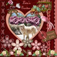 Leia's Heart & Rose Garden