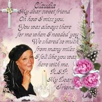 In Memory Of-Claudia