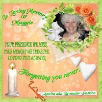 In Memory of Maggie~