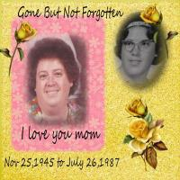 In loving Memory of my mom