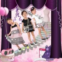 Kids Modeling Clothes~