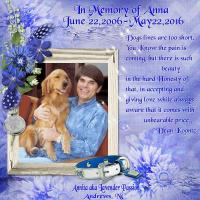 In Memory of Anna!