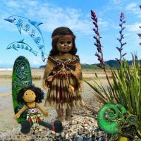 Maori Wahine Doll