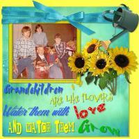 Grandchildren Are Like Flowers~