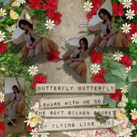 Three little butterflies