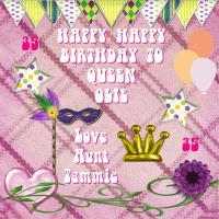 Happy Birthday Queen Olie