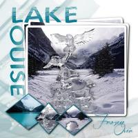 Lake Louise Frozen Over