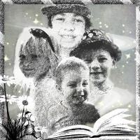 Portrait of Grandchildren