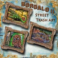 BORDALO ii - STREET TRASH ART