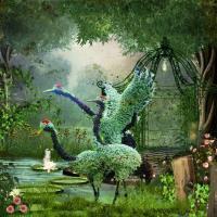 crane topiary