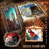 Bordaloii Street Trash Art