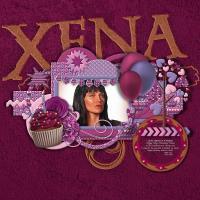 Xena's Birthday