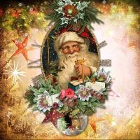 santa 2016 vintage-christmas-time