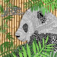 Animorphia Panda Bear