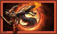 Liu Kang Fireball