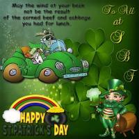 HAPPY ST PATRICK'S DAY SBF