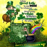 HAPPY ST PAT'S DAY TO YOU