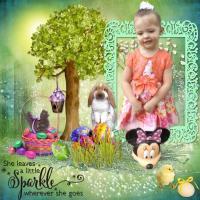 Easter Sparkle Bella!