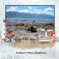 KAIKORI, NEW ZEALAND