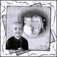 My Grandson & His Mommy