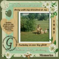 MEMORIES with my Grandma & my 1st Furbaby