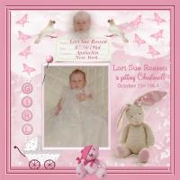 Baby Lori on her Christening Day!