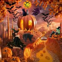 Pumpkins and Witches