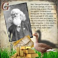 Rev George my GG - Grandfather