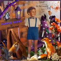 Purple Night - one kit