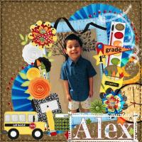 Alexzand 1st grade 2017