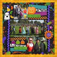 School Halloween Parade